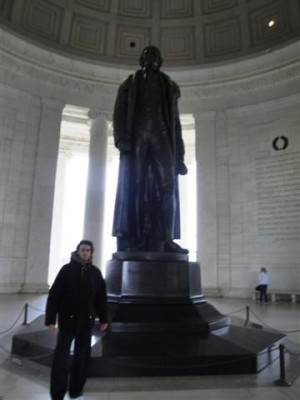 estatua+jefferson+washington