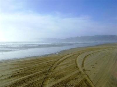 playa+california+huella+auto