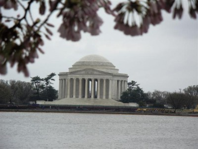 jefferson+memorial+washington+monumento