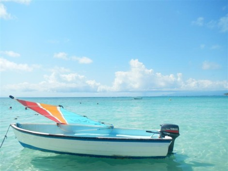 isla de guadalupe en el caribe