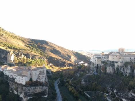 vista+panoramica+cuenca+espana ciudad medieval
