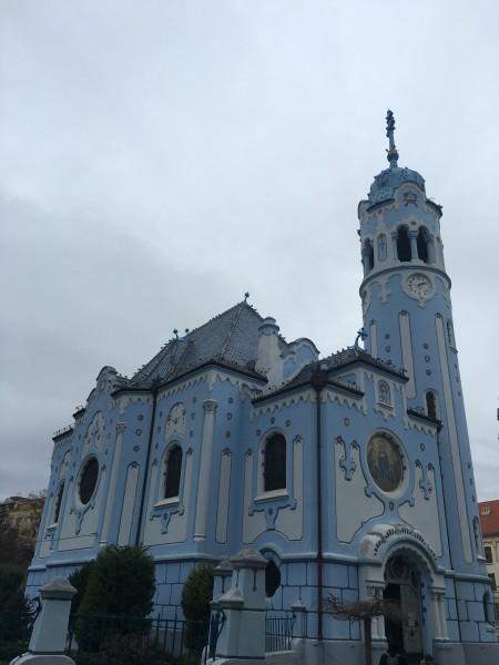 bratislava+iglesia+azul
