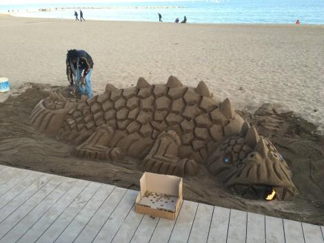 escultura+arena+barcelona