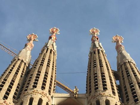 pinaculos+sagrada+familia+barcelona