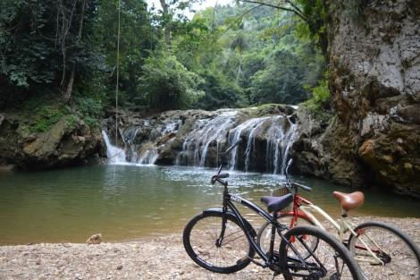 cascada+bicis+republica+dominicana