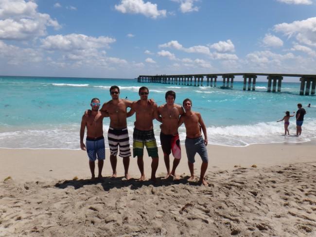 playa+miami+muelle primer viaje a miami