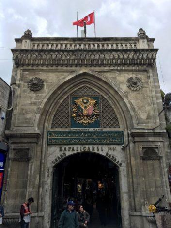 entrada+gran+bazar+turquia estambul la puerta oriente