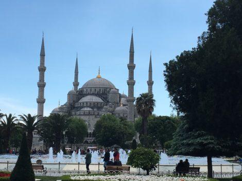 mezquita+azul+estambul+turquia+vista estambul la puerta oriente