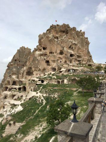 castillo+urchisar+capadoccia caminar capadoccia