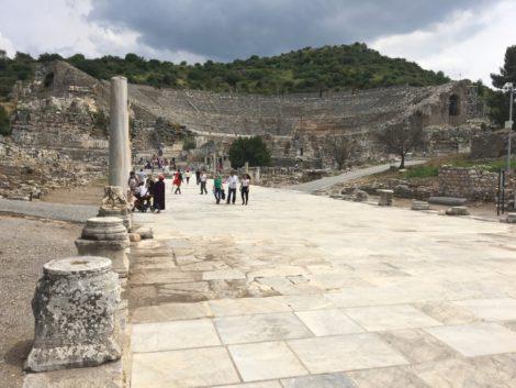 coliseo+columnas+efeso+turquia ruinas efeso