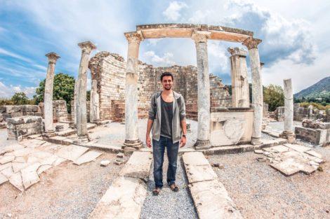 efes+columnas+turquia ruinas efeso