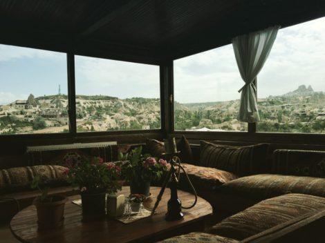 terraza+goreme+capadoccia+turquia caminar capadoccia