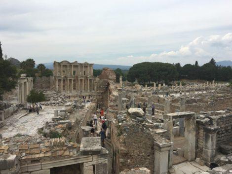 vista+efeso+ruinas ruinas efeso