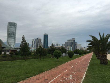 ciclovia+batumi+costanera ciudad con potencial