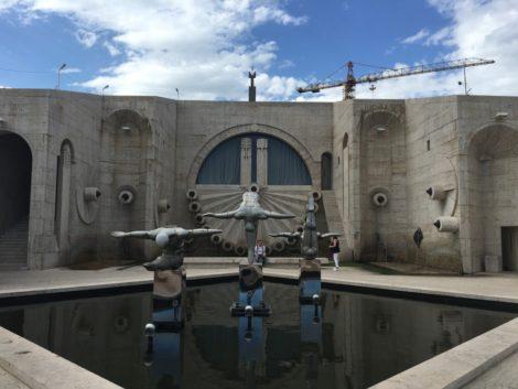 esatuas+cascada+armenia visitar la capital de armenia