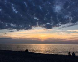 nubes+atardecer+sol