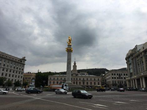 plaza+principal+tbilisi+georgia tbilisi la capital