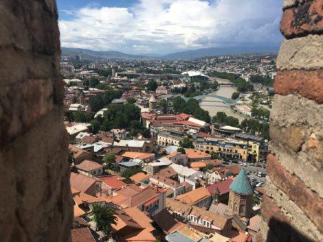 vista+castillo+tbilisi+georgia tbilisi la capital