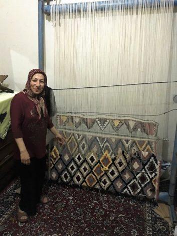 alfombrapersakurdistaniran hospitalidad kurdos