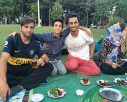 familia iran hospitalidad