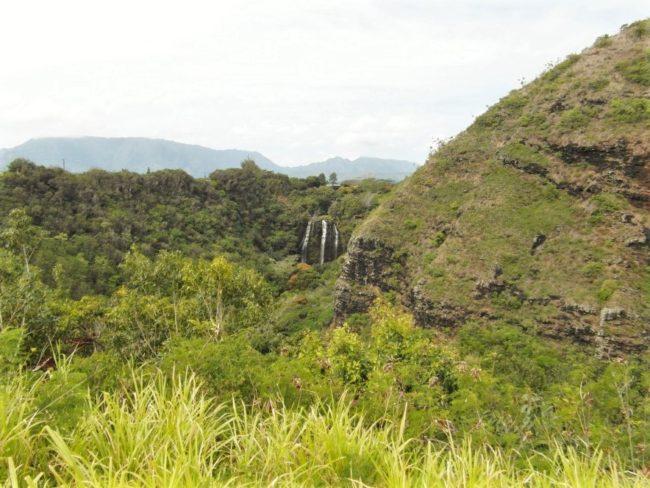 Mientras la vista del paisaje de la Na Pali Coast era cada vez más asombrosa.