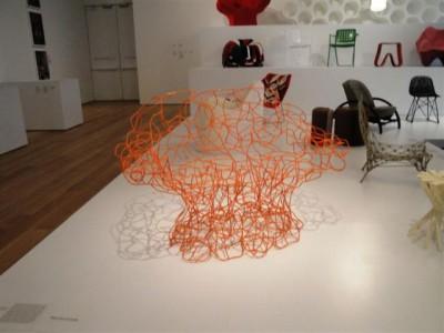 silla+rara+naranja+chicago