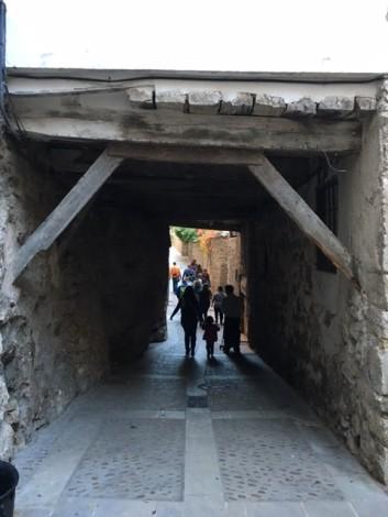 calles+cuenca+espana ciudad medieval