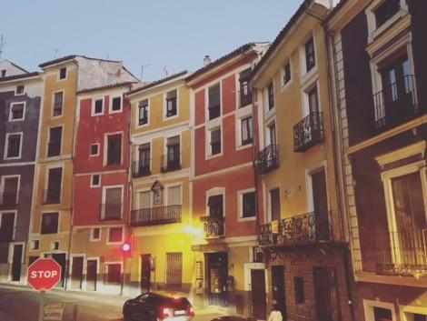 casas+colgantes+colores+cuenca ciudad medieval