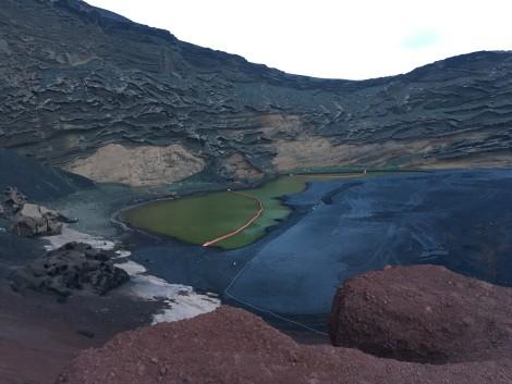 lago+verde+lanzarote naturaleza en lanzarote