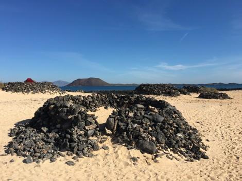 en la isla de fuerteventura