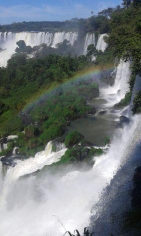 iguazu+misiones+agua+arcoiris cataratas del iguazu
