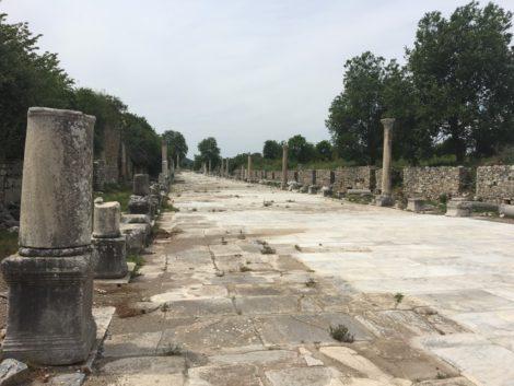 calle+columnas+turquia+efeso ruinas efeso