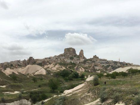 urchisar+capadoccia caminar capadoccia