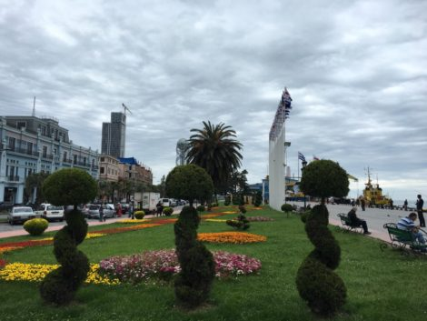flores+batumi+georgia ciudad con potencial