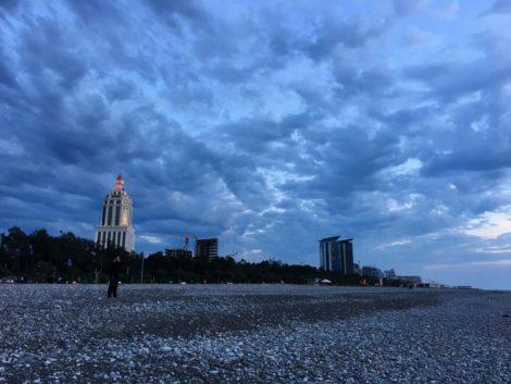 nube+edificios+batumi