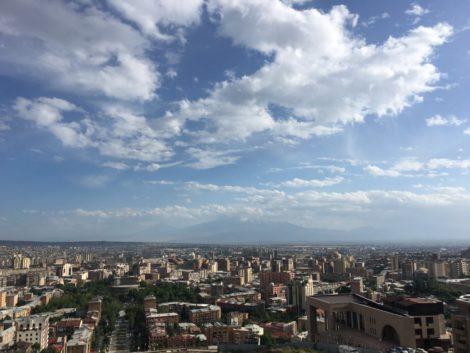 vista+panoramica+yerevan+armenia visitar la capital de armenia