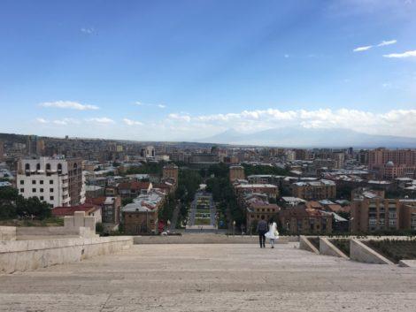 vista+yerevan+armenia visitar la capital de armenia
