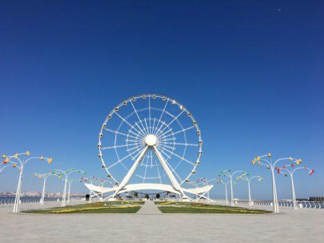 vueltaalmundobaku visitar baku azerbaiyan